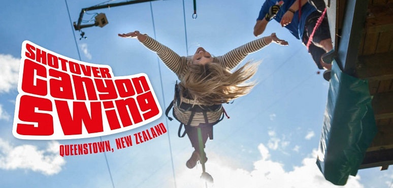 Win: A Shot Over Canyon Swing in Queenstown